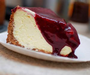 cake, dark, and food image