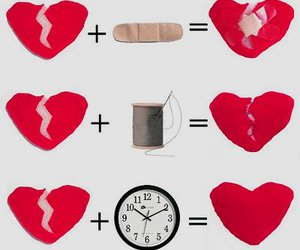 broken heart and time image