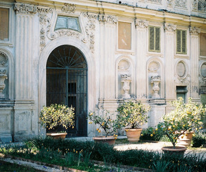 architecture, garden, and italy image