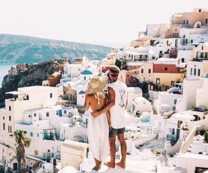 couple, love, and Greece image