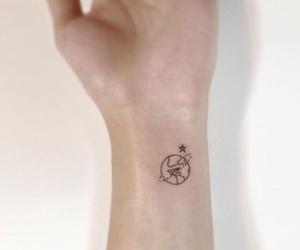 tattoo, world, and art image