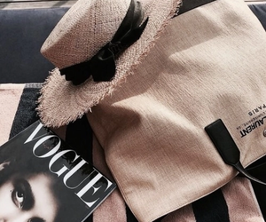 fashion, vogue, and magazine image