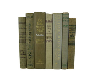 beige, tan, and vintage books image