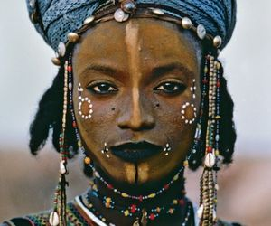 woman and tribal image