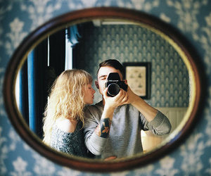 couple, love, and vintage image