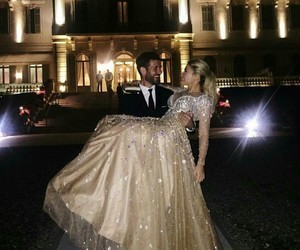 couple, love, and dress image