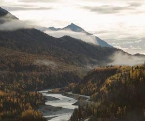 adventure, autumn, and landscape image