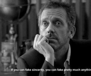 quotes, house md, and black and white image