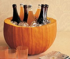 drinks, fall, and october image