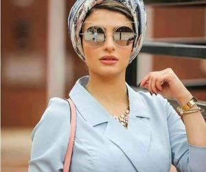 fall, hijab, and hijab fashion look image