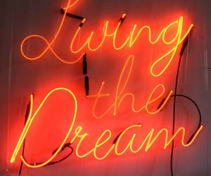 quotes, neon, and Dream image