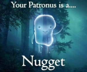 nugget, patronous, and harry potter meme image