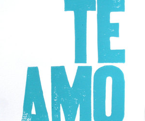 love and te amo image