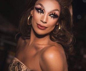 drag, rupauls drag race, and race image