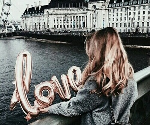 love, girl, and travel image