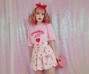 kawaii, outfit, and pastel image