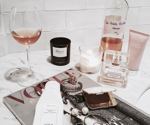 wine, beauty, and drink image