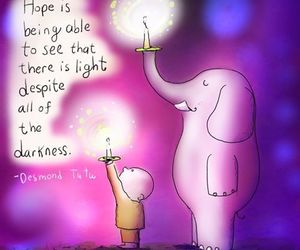 hope and light image