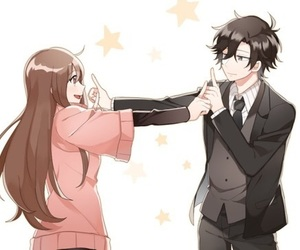 mystic messenger and jumin image