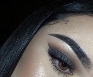 beauty, makeup, and girl image