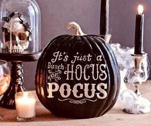 Halloween, pumpkin, and hocus pocus image