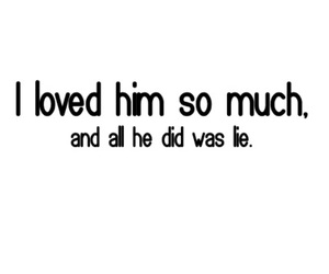 lie, quote, and hurt image