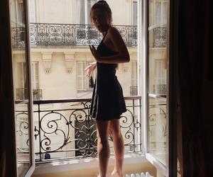 girl, fashion, and dress image