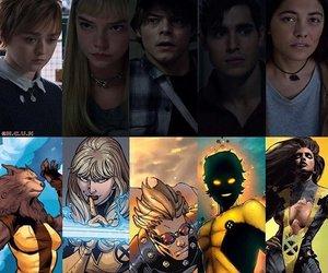 comic, Marvel, and movie image