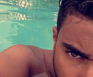 piscine, soleil, and mec image