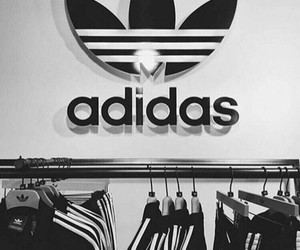 adidas, black, and light image
