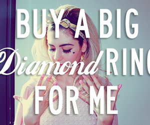 marina and the diamonds, diamond, and quotes image