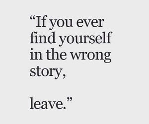 quotes, story, and leave image