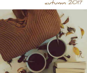 article, autumn, and book image
