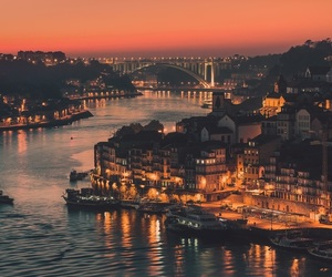 city, porto, and portugal image