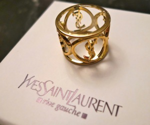 ring, YSL, and fashion image