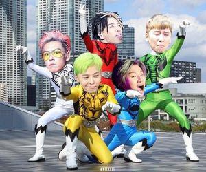 bigbang, daesung, and funny image