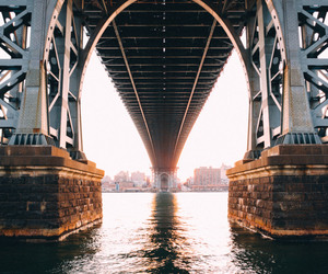 bridge, photography, and new york image