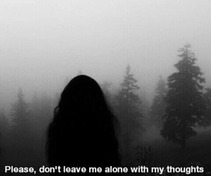 alone, sad, and anxiety image