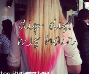 awesome, dye, and long hair image