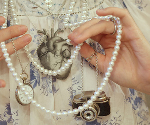 necklaces and pearls image