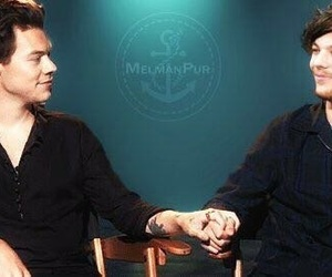 interview, louis, and harry image