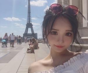 beautiful, sky, and 可愛い image