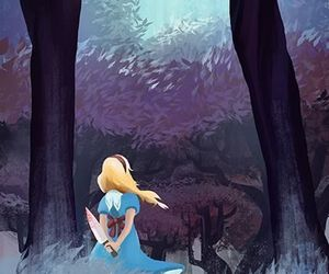 alice, wallpaper, and cat image
