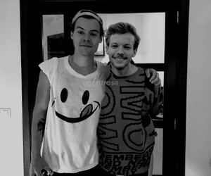 b&w, manip, and louis image