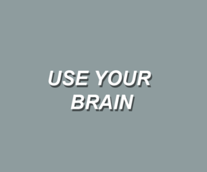 aesthetic, brain, and quotes image