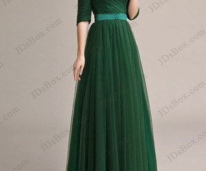 evening dress, maxi dress, and off shoulder dress image