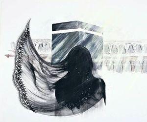 mecca, hijab, and islam image