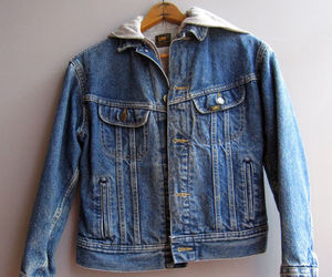 denim jacket, ebay, and hipster image