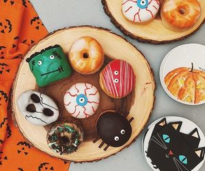 Halloween, food, and autumn image