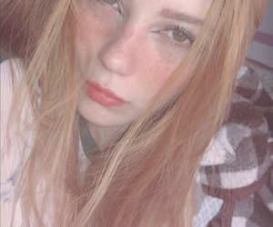 baby, eyes, and freckless image